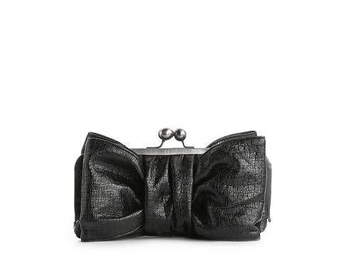Jessica Simpson Jenny Bow Clutch Clutches Handbags - DSW