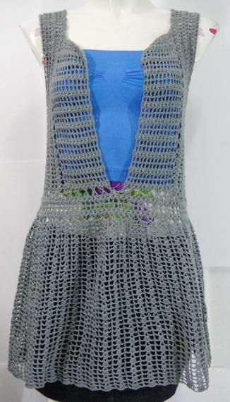 Crochet wearable Top :: my jobs ^V^