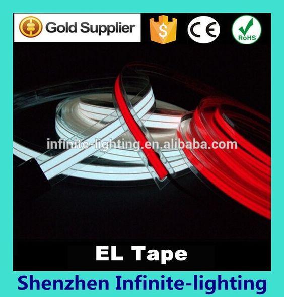 Fantastic running tape or Strip / El tape/el light tape with high brightness