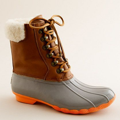Sperry Top-Sider® shearwater boots