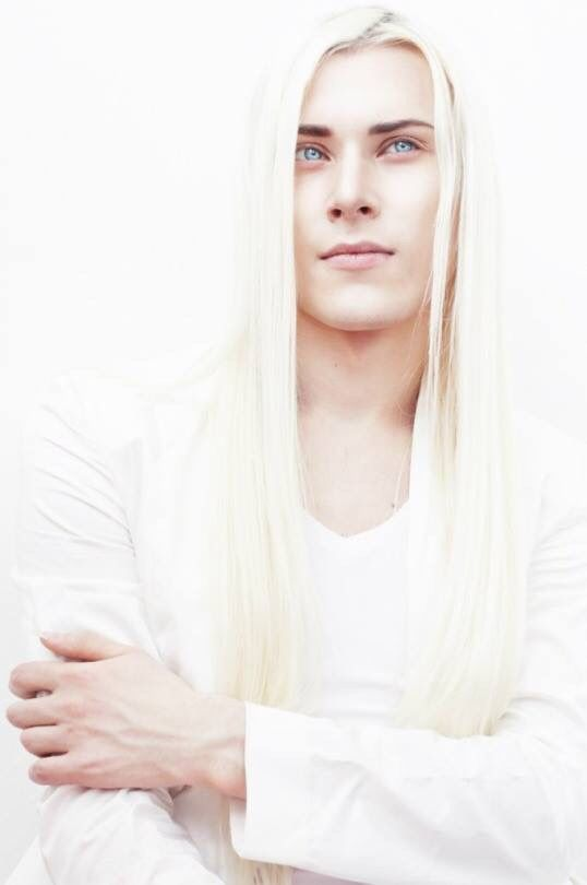This Russian guy is so pretty. I heard that the model is really reserved and there is so little information you can find about him. Such a shame though, he...: