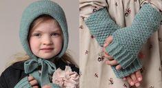 Le bonnet et les mitaines enfant  PHILDAR | Prima