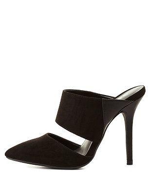 Pointed Toe Mule Heels: Charlotte Russe