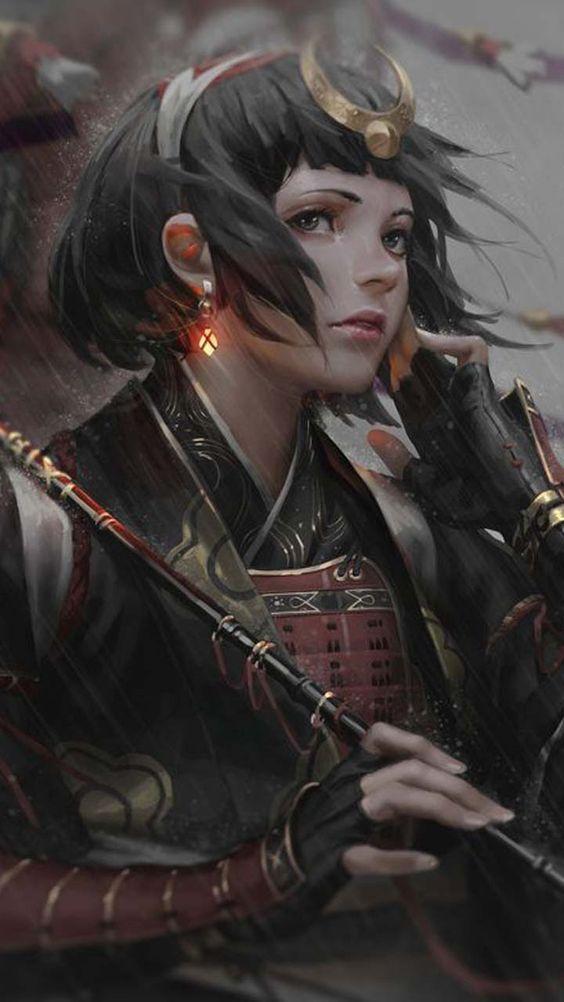 Warrior Princess Prajurit Wanita Seni Karakter Warrior Princess Best anime warrior hd wallpaper