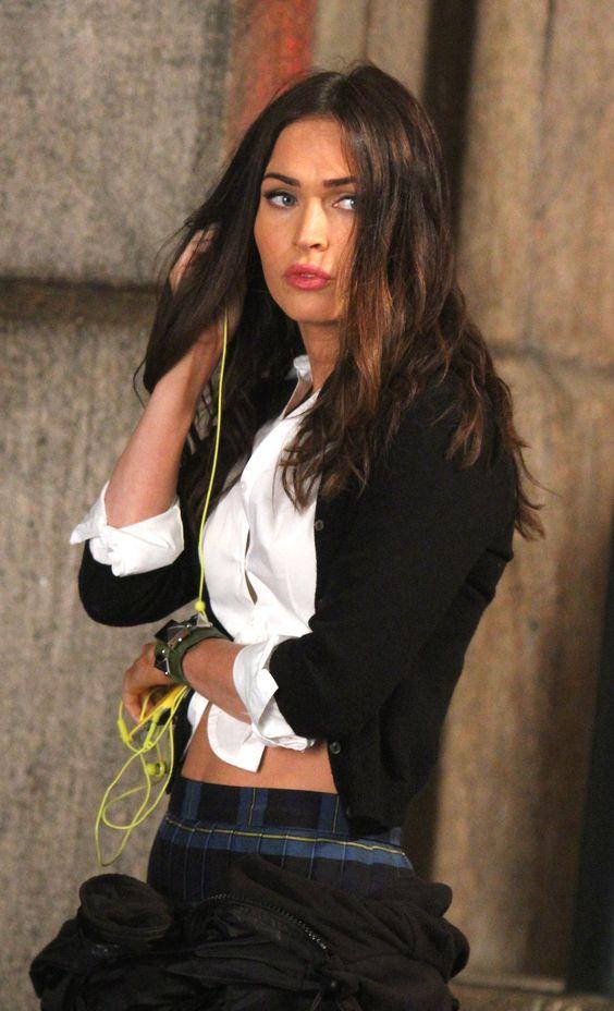 Megan Fox on the set of 'Teenage Mutant Ninja Turtles 2' in New York City, 06/02/15