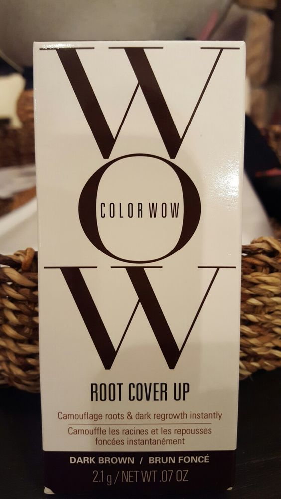 Color Wow is a compact color are ients use for in between color, you just brush it on and go, its that easy. I uae mine all the time . there is no way I can go 4 weeks so i cant live with out this.