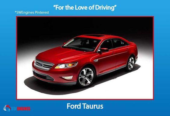 #SWEngines FordTaurus