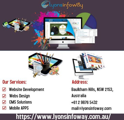 Lyonsinfoway Specialize In Web Design Website Template Design And Business Website Design With Seo Web Design Business Website Design Website Template Design