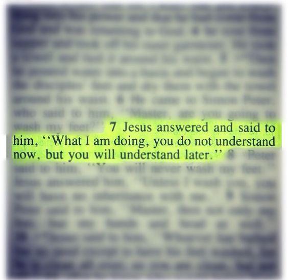 john 13:7: