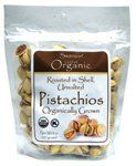 Organic Pistachios Roasted & Unsalted 8 oz (227 grams) Pkg - http://goodvibeorganics.com/organic-pistachios-roasted-unsalted-8-oz-227-grams-pkg/