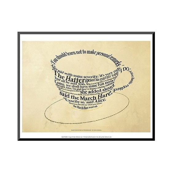 Art.com Alice In Wonderland Mounted Print, Brown ($50) ❤ liked on Polyvore featuring home, home decor, wall art, light brown, brown wall art, wooden wall art, contemporary wood wall art, handmade home decor and wood home decor