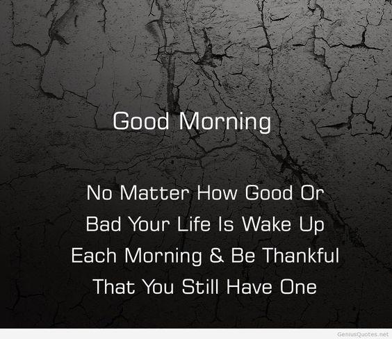 English good morning quotes