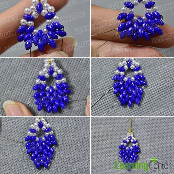 Love seed beads earrings? If yes, you must get excited about today's Pandahall tutorial on how to make 2-hole seed beads leaves earrings for girls!