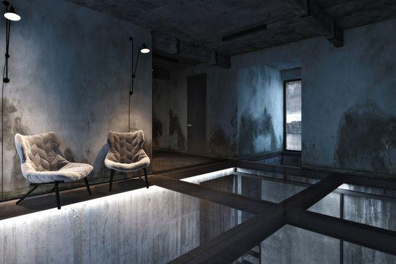 acero interiores diseño - Buscar con Google
