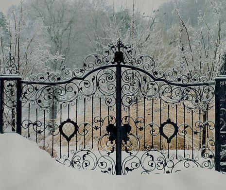 Gorgeous Christmas Gate