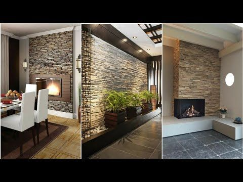 150 Stone Wall Decorating Ideas For Living Room Wall Design 2020 Youtube Stone Wall Interior Living Room Living Room Wall Designs Stone Wall Living Room Stone wall living room decor