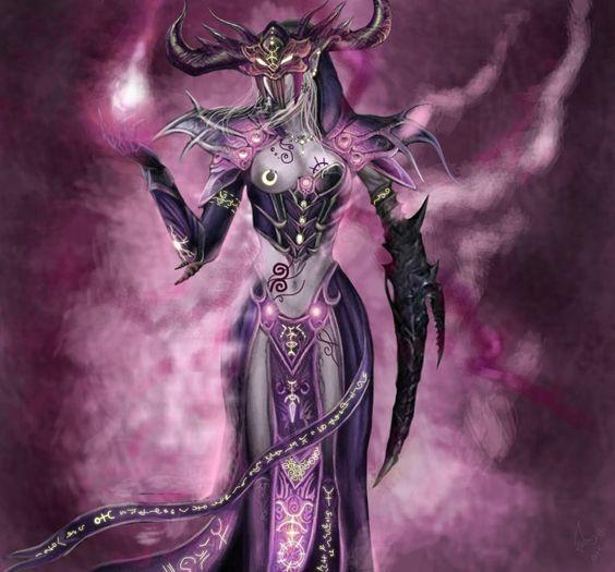Slaaneshi sorcerer by Slaanesh-Goddess666