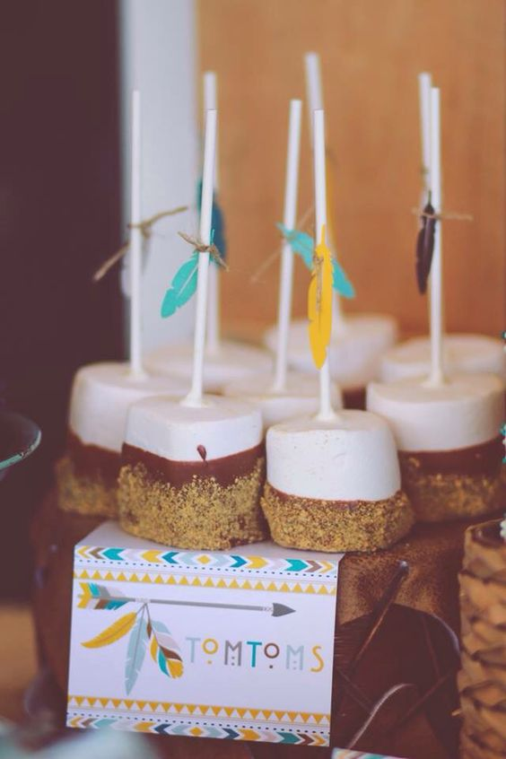 teepee cookies | So Cute Cookies