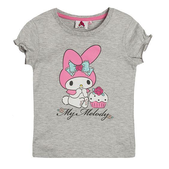 T-shirt dziewczęcy z krótkim rękawem, My Melody