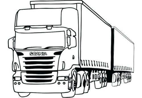 Dibujos De Trailers Para Colorear Imagenes De Camiones Para Pintar Actualizado Blogicars Aut Dibujos De Autos Faciles Dibujos De Coches Dibujos De Autos