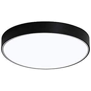 Moderne 48W LED Deckenlampe Flur Deckenleuchte Wohnzimmer Badlampe Beleuchtung