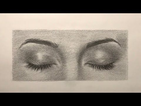 How To Draw Closed Eyes Drawing Lailah Magazine Closed Eye Drawing Eye Drawing Aesthetic Drawing