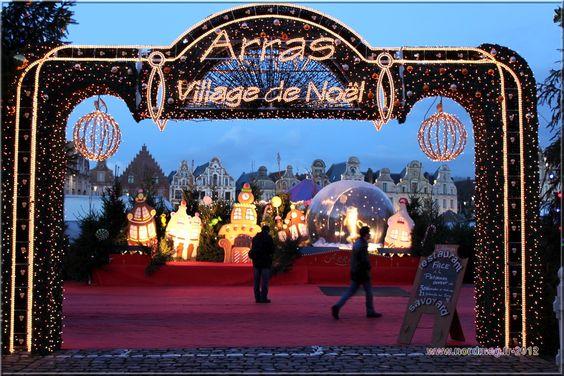 Amarine est au marché de Noël d'Arras