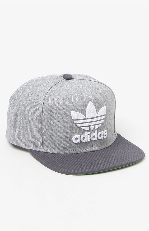 Thrasher Chain Heather Grey Snapback Hat