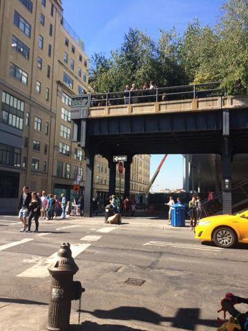 Highline De Highline is wat mij betreft een echte must see. Het is een park wat zich uitstrekt over een groot gedeelte van West Manhattan en dan boven de grond. Het park is aangelegd op een oude verhoogde spoorlijn. Het park is ook nog eens aangelegd door een Nederlandse ontwerper, Piet Oudholf. Vooral in het voorjaar en de zomer is het erg leuk om over de highline te lopen. Het is er mooi groen beplant, je hebt hier en daar prachtige uitkijkjes op Manhattan, je kan overal even lekker zitten…