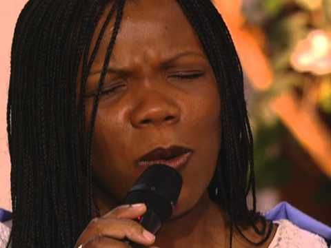 Lynda Randle:   God On the Mountain;   Mom loved this song, the words are so powerful, and we played this DVD of Lynda Randle at her funeral cause she loved this version best.