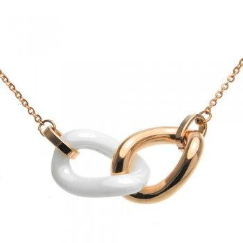 Check out this Ceramic and Sterling Silver Necklace, Perfect for love one!