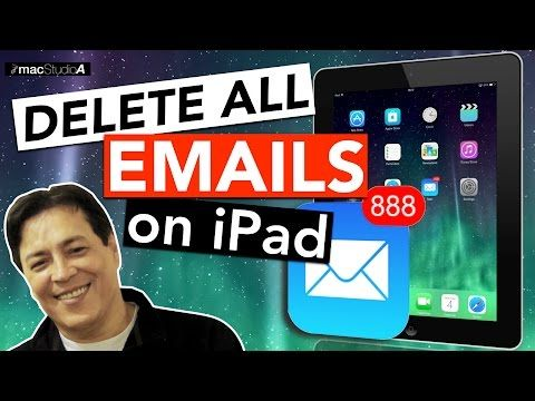 How To Mass Delete Emails From Your Iphone Or Ipad Youtube Ipad Inbox Messages