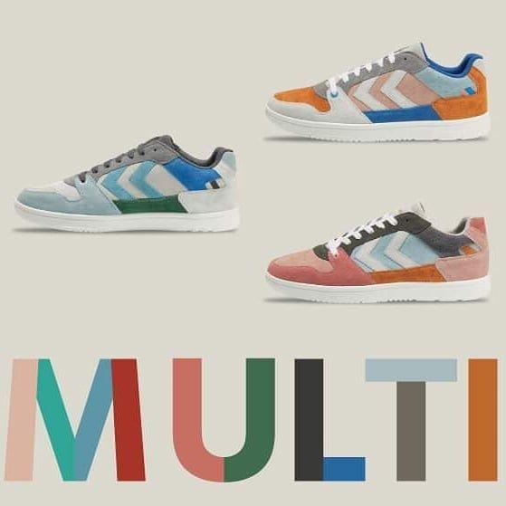 Renkli Mi Renkli Hummel Sneaker Hummel Etichetsport In 2020 Sneakers Hummel Sneaker Shoes