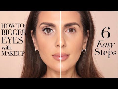 How To Make Your Eyes Look Bigger In 6 Easy Steps Ali Andreea Youtube Big Eyes Makeup Makeup For Small Eyes Make Eyes Bigger