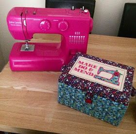 Roseanna Creates!: My sewing kit! Beginners sewing kit. Including the John Lewis pink sewing machine! Follow my blog for more creative ideas in the future :)