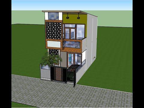 denah rumah 5x6 2 lantai - soal umum