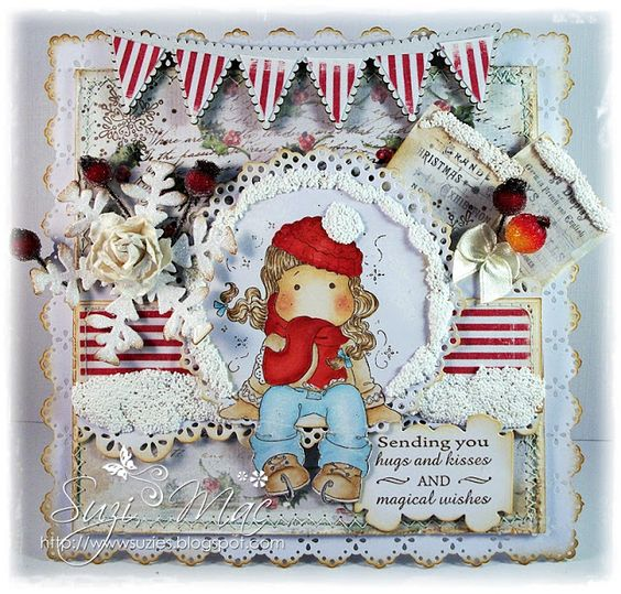 Sugar n Spice: Magnolia-Licious/Wee Stamps DT - Ways to Weather it.