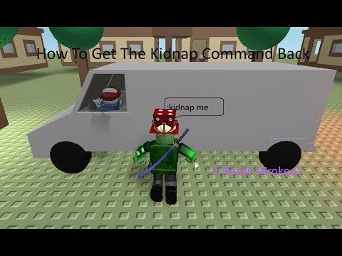 How To Add The Kidnap Command Back Into Your Roblox Game Now - youtube roblox guests removed