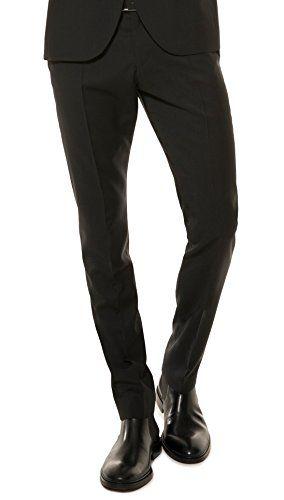 #Herren #Slim #Fit #Baukasten #Anzughose aus #reiner #Schurwolle, #Marke…