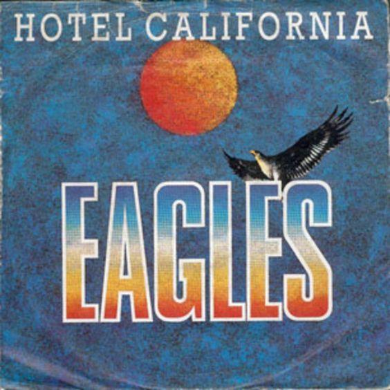 The Eagles – Hotel California (single cover art)