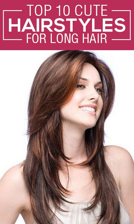 Terrific Cute Hairstyles Long Hair And 10 Top On Pinterest Hairstyles For Women Draintrainus