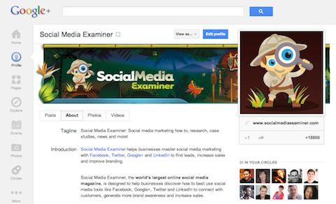 Google+ Marketing: Why Marketers Should Not Overlook Google+ via @SMExaminer