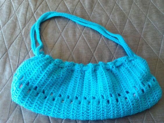 Crochet Purse by TangledTantrums on Etsy, $55.00