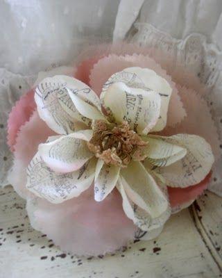 Parisian Inspired Rosette Tutorial: Craft Flowers, Diy Flowers, French Flowers, Flower Tutorials, Fabric Flowers, Crafts Flowers, Flowers Flowers, Diy Craft