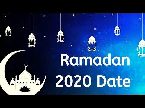 Ramadan Mubarak 2020 Date