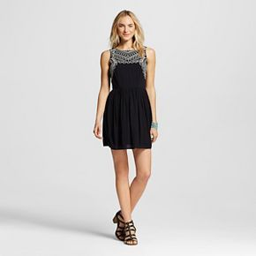 Women's Embroidered A Line Dress - Xhilaration™ (Juniors')