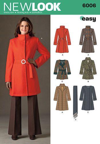 Misses' Coats:
