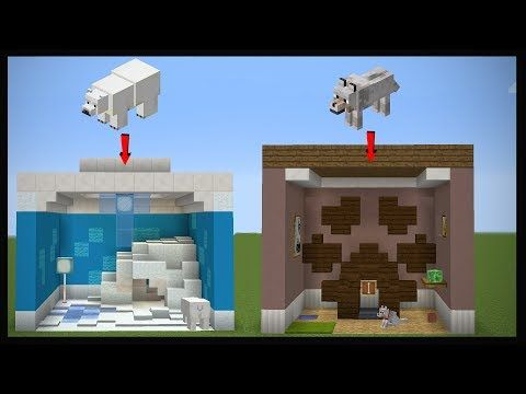 10 Minecraft Pet Room Designs Youtube Minecraft Minecraft