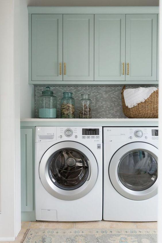 Unique Urban Modern Laundry Room