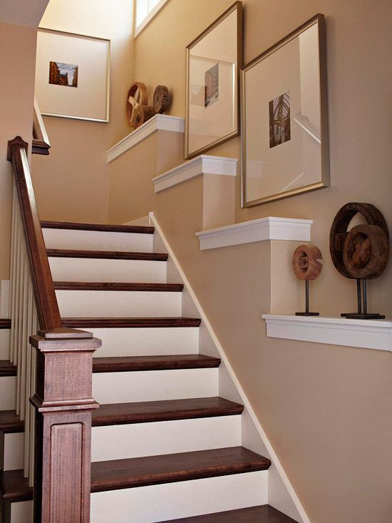 Basement Stair Trim: Love The, Galleries And Staircases On Pinterest